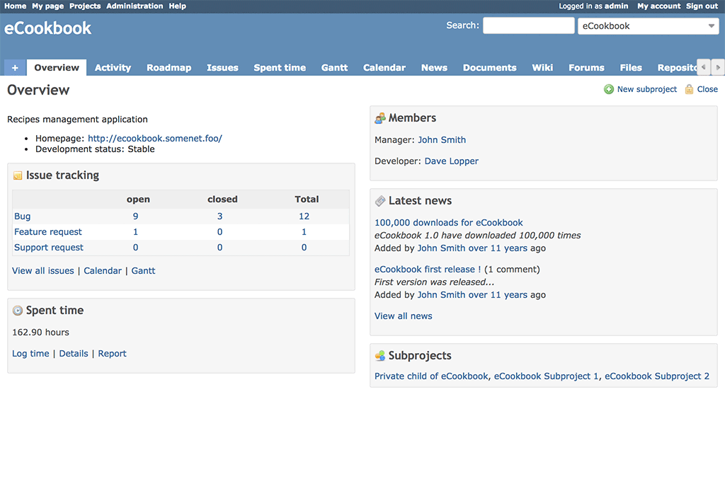 Redmine 3.4.3.devel.17022