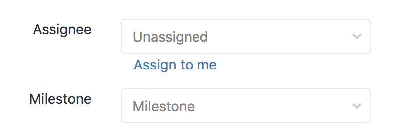 Assign to me link in GitLab